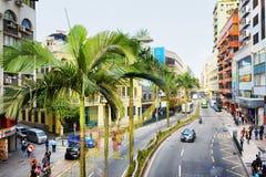 Historic centre of Macau Stock Photos