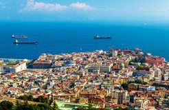 The historic centre of Napoli Royalty Free Stock Images