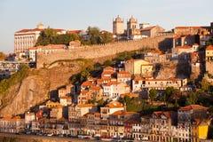 The historic centre of Porto Stock Image
