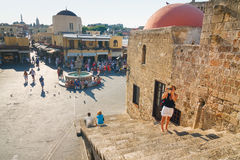 Historic centre of Rhodes Stock Photo