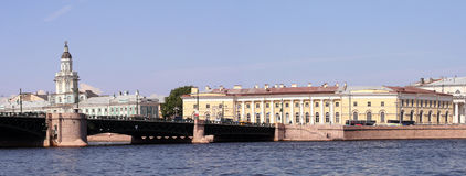 Historic centre of Saint Petersburg, Russia Stock Images