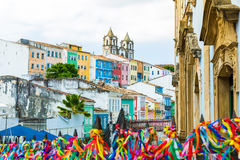 The historic centre of Salvador, Bahia, Brazil Royalty Free Stock Images