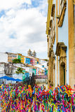 The historic centre of Salvador, Brazil Stock Image
