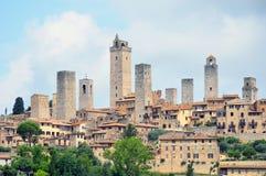 Historic Centre of San Gimignano Stock Photography