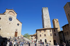 Historic centre of San Gimignano, Tuscany, Italy Stock Photography