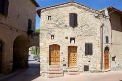 Historic centre of San Gimignano, Tuscany, Italy Stock Image