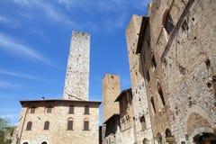 Historic centre of San Gimignano, Tuscany, Italy Royalty Free Stock Photos
