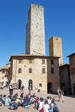 Historic centre of San Gimignano, Tuscany, Italy Royalty Free Stock Image