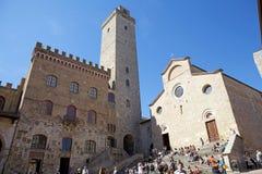 Historic centre of San Gimignano, Tuscany, Italy Royalty Free Stock Images
