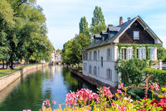 The historic centre of Strasbourg in France Stock Photos