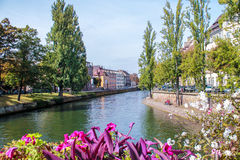 The historic centre of Strasbourg in France Royalty Free Stock Image
