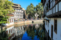 The historic centre of Strasbourg in France Royalty Free Stock Photography