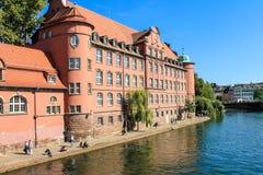 The historic centre of Strasbourg in France Stock Image