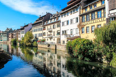 The historic centre of Strasbourg in France Royalty Free Stock Photo