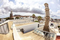 Historic centre of Teguise, Lanzarote Stock Photography