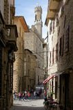 Historic centre of Volterra, Tuscany, Italy Stock Photography