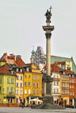 Historic Centre of Warsaw, Poland Royalty Free Stock Image
