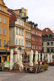 Historic Centre of Warsaw, Poland Stock Photography