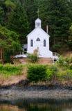 Historic Chapel, San Juan Island, USA Stock Photography