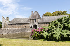 Historic  chateau in normandy  france Royalty Free Stock Photography