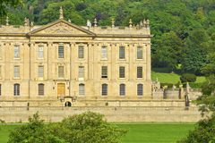 Historic Chatsworth House in Derbyshire, UK. Royalty Free Stock Photos