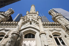 Historic Chicago Water Tower Royalty Free Stock Photos