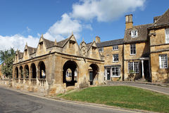 Historic Chipping Campden Market Hall Stock Images
