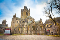 Christ Church Ireland Royalty Free Stock Images
