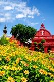 Historic Christ Church malacca, Malaysia Royalty Free Stock Image