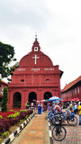 Historic Christ Church in Malacca Royalty Free Stock Photo
