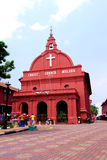 Historic Christ Church Melaka Stock Photography