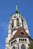 The historic church �Paulskirche� in Munich Stock Photo