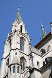 "The historic church ""Paulskirche"" in Munich Royalty Free Stock Photo"