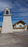 Historic Church on the Altiplano Royalty Free Stock Photo