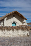 Historic Church on the Altiplano Royalty Free Stock Image