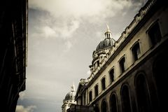 Historic church architecture Stock Photography