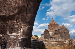 Historic church in Armenia Royalty Free Stock Photo