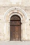 Historic church in Bevagna Royalty Free Stock Photos