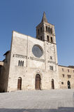 Historic church in Bevagna Royalty Free Stock Photo