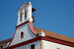 Historic Church in Cartagena Stock Image
