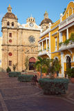 Historic Church in Cartagena Royalty Free Stock Image