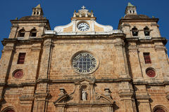 Historic Church in Cartagena Royalty Free Stock Photography