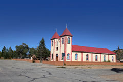 Historic church in Colorado Stock Image