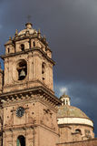 Historic Church in in Cusco Royalty Free Stock Photo