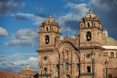 Historic Church in in Cusco Stock Photo