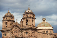 Historic Church in in Cusco Royalty Free Stock Photos