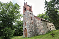 Historic church in East Germany Royalty Free Stock Photography
