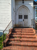 Historic church entry Stock Images