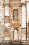 Historic Church Facade Antigua. Historic church facade in Antigua, Guatemala Royalty Free Stock Photo