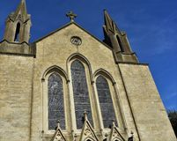 Free Historic Church Front, Frome, Somerset, England Stock Photo - 157481620